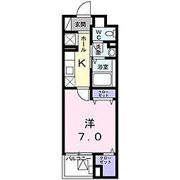 (仮称)旭が丘3丁目マンション[4階]の間取り