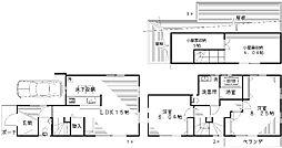 [一戸建] 東京都杉並区西荻南3丁目 の賃貸【/】の間取り