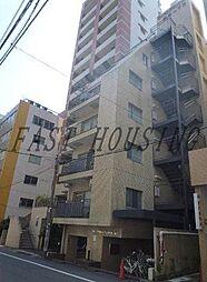 東京都新宿区新宿1丁目の賃貸マンションの外観