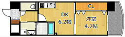 ザ.ヒルズ戸畑[10階]の間取り