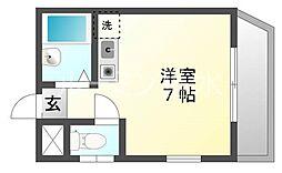 コーポ小嶋[2階]の間取り