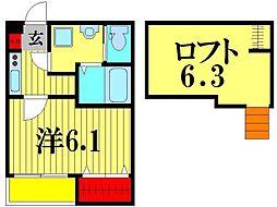クルーゼ[2階]の間取り