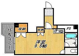 サンピア福岡[5階]の間取り