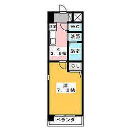 TOWA STAGE TAKAMA[2階]の間取り