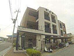 兵庫県川西市東久代1丁目の賃貸マンションの外観