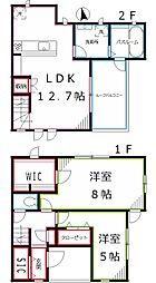 東京都国分寺市東恋ヶ窪6丁目の賃貸アパートの間取り