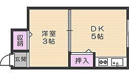 千寿荘[N104号室]の間取り