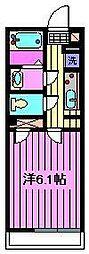 コンフォート桜木[3階]の間取り