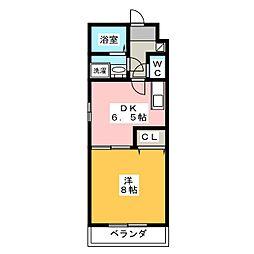 ForceV[3階]の間取り