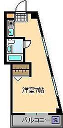 東京都足立区千住大川町の賃貸マンションの間取り