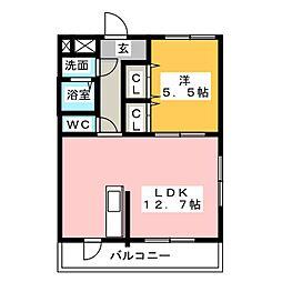 リフレ[3階]の間取り