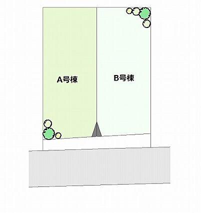 区画図の写真