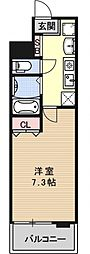 五条高倉Vivre2[505号室号室]の間取り