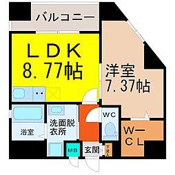 YOSHINO SQUARE(ヨシノスクエア)[9階]の間取り