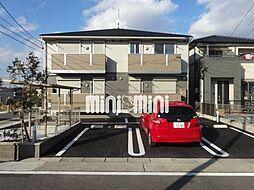 愛知県名古屋市守山区川村町の賃貸アパートの外観