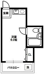 アプトン新大阪[4階]の間取り