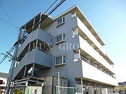 東京都昭島市緑町2丁目の賃貸マンションの外観