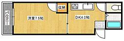 クリオハイム[3階]の間取り
