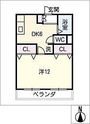 榊原ビル[3階]の間取り