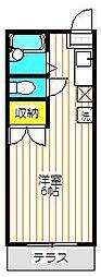 ハイムラムーネ[2階]の間取り
