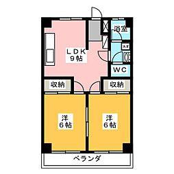 ADDRESS[4階]の間取り