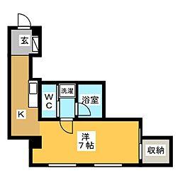 PIVOT静岡[9階]の間取り