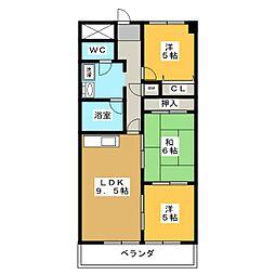 メゾン・エスポワール[3階]の間取り