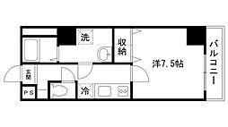 レジデンスM姫路[1005号室]の間取り