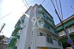 兵庫県神戸市須磨区車字梨川の賃貸マンションの外観