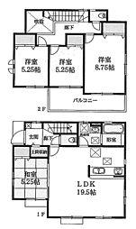 押部谷駅 2,480万円