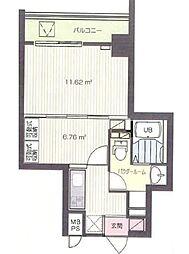 Supre新横浜[11階]の間取り
