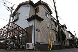 千葉県船橋市本中山4丁目の賃貸アパートの外観