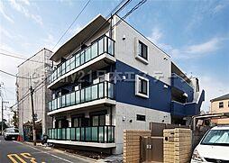 東京都大田区北馬込2丁目の賃貸マンションの外観