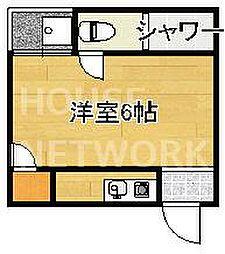 ハイツ松ヶ崎[3-C号室号室]の間取り