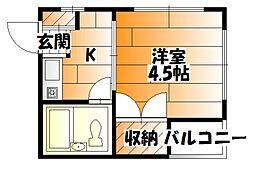 海岸通駅 3.2万円