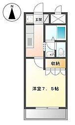 CASA VERDE[1階]の間取り