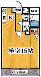 ブランチ613[210号室号室]の間取り