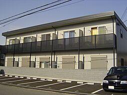 大阪府貝塚市鳥羽の賃貸アパートの外観
