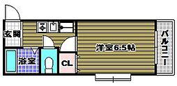 弘成エステート[3階]の間取り