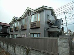 東京都調布市東つつじケ丘三丁目の賃貸アパートの外観