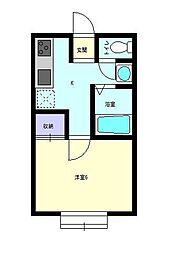 Sakura[103号室]の間取り