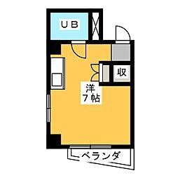 マロンハイツ[3階]の間取り