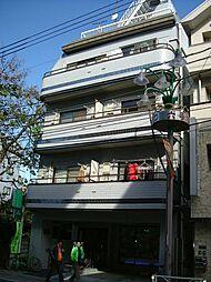ハイネスYM 幡ヶ谷駅7分 壁一面の大型収納 角部屋で陽当り[3階]の外観