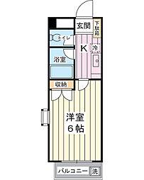 コートアネックスII[1階]の間取り