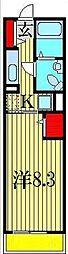 グレイスカレントII[2階]の間取り
