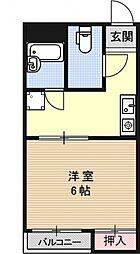 サンシャイン京都[303号室号室]の間取り