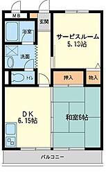 新川崎貳阡(新川崎二千)[0307号室]の間取り