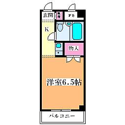 大和田マンション[3階]の間取り