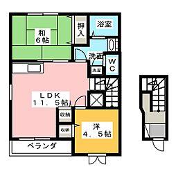 コミュニティ21[2階]の間取り