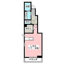 綿屋V A[1階]の間取り